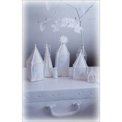 Świąteczna wioseczka - dekoracja