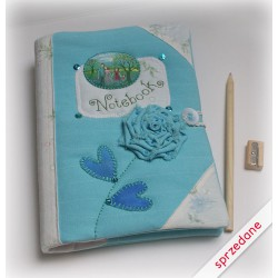 Notes niebieski z miniaturką