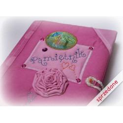 Pamiętnik różowy z miniaturką