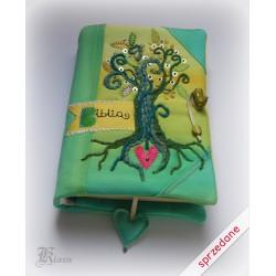 Okładka - pokrowiec na biblię Tysiąclecia
